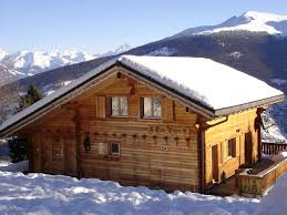 100 Log Cabins Switzerland Luxury Chalet Central Village Location 23 Minutes Walk Lifts Great Views Vex