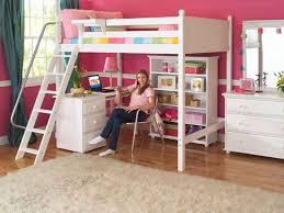 Wooden Loft Bed Design by Fine Awesome Loft Beds With Desk Image For Bunk Inside Decorating