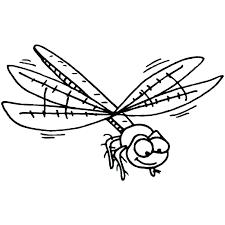 Dragonfly Coloring Pages Mandala