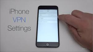 How to setup an iPhone VPN connection
