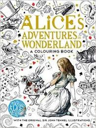 The Macmillan Alice Colouring Book Amazoncouk Lewis Carroll 9781509813605