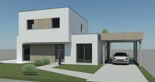 maison en cube moderne nos modèles hci constructions