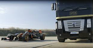 Epic World-Record Truck Jump By EMC And Lotus F1 Team - Videos - Fribly