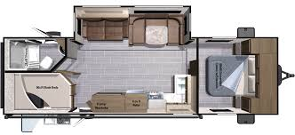 Travel Trailer Floor Plans Rear Kitchen by 2017 Ultra Lite Travel Trailers Ut2802bh By Highland Ridge Rv