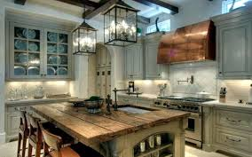 Rustic Kitchen Offers A Stylish Ambience