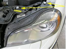 how to replace bixenon bulb in a volvo xc90 the