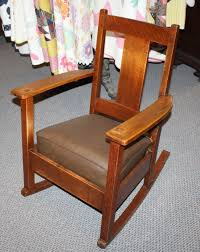 Bargain John's Antiques | Antique Arts And Crafts Mission Oak ... Fniture Catch Release Jackson Hole Indoor Wooden Rocking Chairs Cracker Barrel 64 Off Antique Caribbean Striped Upholstery Wood Rocker Chair Transparent Png Stickpng Top 10 Of 2017 Video Review Whats It Worth Gooseneck Rocker Spinet Desk Home And Gardens Auction Estate Antiques Charles Limbert Large Arm W4361 Sold Thonet Style Bentwood Rehab Vintage Interiors Late 19th Century Oak And Beech Childs Brand New Hauck Rocking Glider Nursing Chair Foot Stool Antique