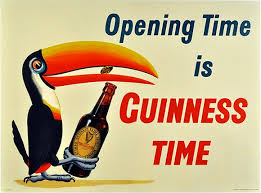 Free Vintage Posters Travel Printables Opening Time Is Guinness