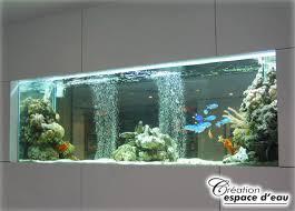 aquarium dans le mur création et réalisation d aquarium encastrée grand format sur