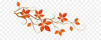 Autumn leaf color Branch Clip art Decorative Branch with Autumn Leaves PNG Clipart