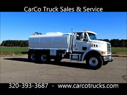 100 Water Truck Tanks 2004 Sterling McLellan 3600 Gallon Tanker For Sale By CarCo