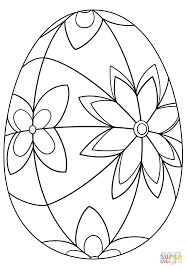 Click The Detailed Easter Egg Coloring Pages To View Printable