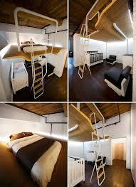 mezzanine chambre adulte lit mezzanine 2 places 9 idées gain de place chambre adulte lits