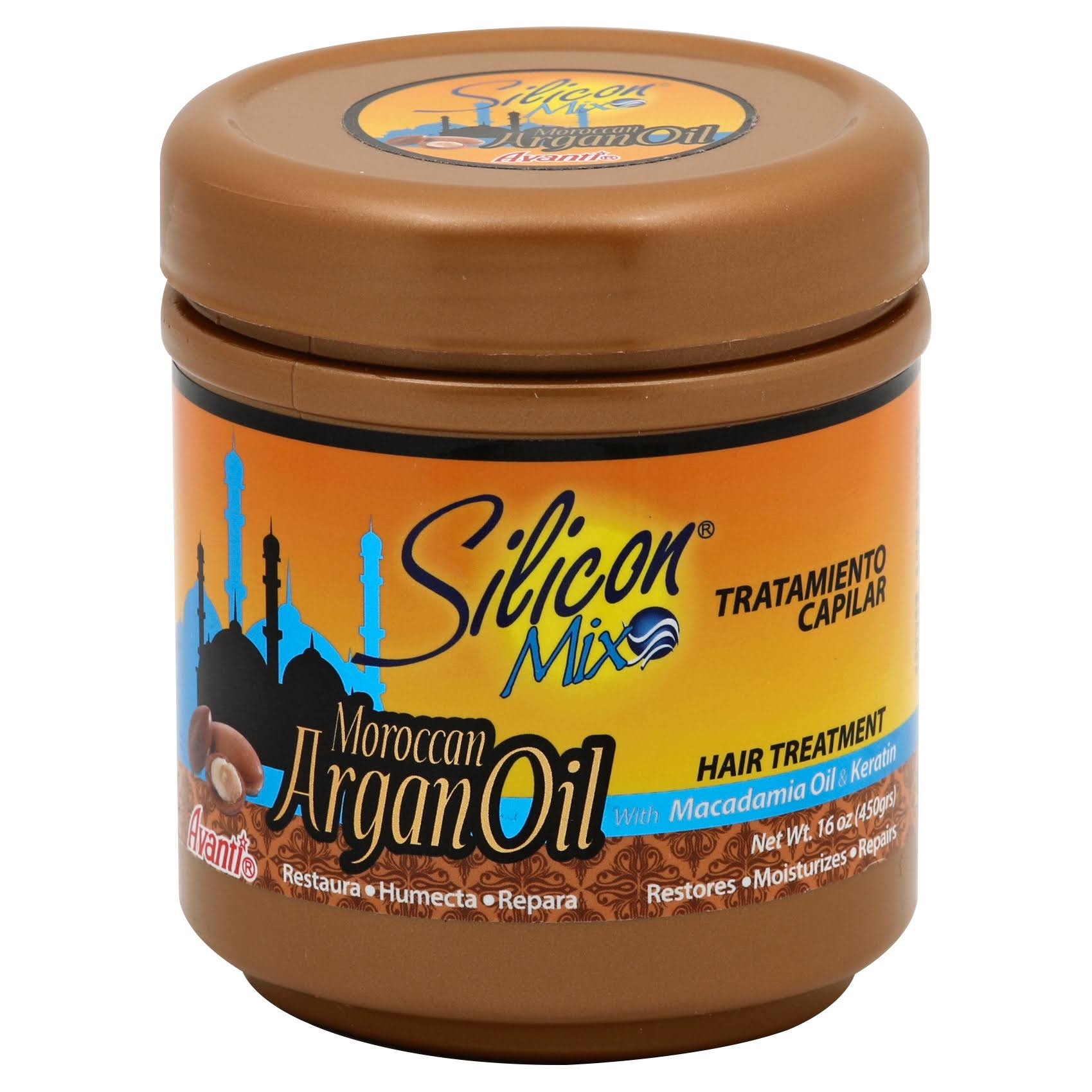 Silicon Mix Moroccan Argan Oil Intensive Hair Treatment - 16oz