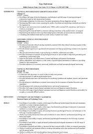 Download Clinical Psychologist Resume Sample As Image File