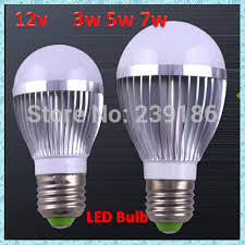 aliexpress buy 12v 3w 5w 7w high brightness led bulb l