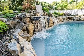Swimming Pool Slides Bringing Waterpark Thrills Home
