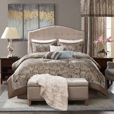 Kohls Chaps Bedding by Madison Park Elsa 7 Piece Comforter Set