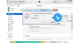How to Recover Reset iPhone Backup Password