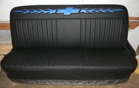 New Chevy Truck Bench / Seat Cover / Flames And Bowtie / Rick's ... Saddleman Custom Made Front Bench Backrest Seat Cover Saddle Blanket Truck Seat Cover Upholstery Ricks A 1939 Chevy Pickup That Mixes Themes With Great Results Coverking Cordura Ballistic Fit Covers Designs Of 1956 Reupholstered Part 1 Youtube Amazon Dog Car Back For Cars Trucks Suvs 196772 Gmc Replacement Of 6 In Peachy Rebuilding Stock Chevrolet Inspirational 2006 Colorado 60 40 63 Colossal For 5c27b7f584a0b Best