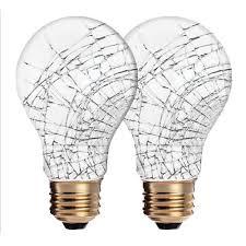 Satco Led A19 Lamps by Satco S3928 2 1 75a Rs Tf 2pk 75w A19 Rough Service