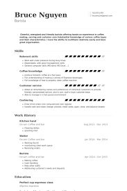 Kitchen Hand Resume Example