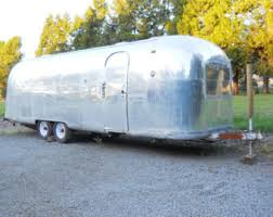 1966 Vintage Airstream Land Yaht Silver Bullet Travel Trailer Ambassador World Tour Gutted Restoration Project Repurpose