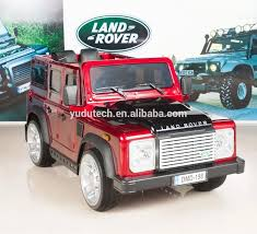 100 Kids Electric Truck Painting Red Land Rover Defender Ride On Car 12v