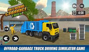 Truk Sampah Offroad: Dump Truck Driving Games For Android - APK Download