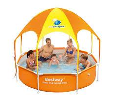 Hard Plastic Kiddie Pool Bestway Splash In Shade Play