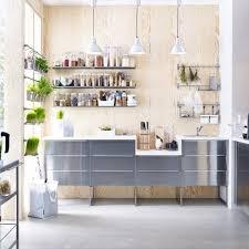 cuisine laqu馥 blanche plan de travail gris cuisine laqu馥 grise 59 images cuisine laque grise cuisine