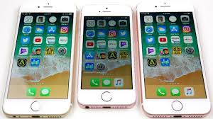 iPhone 6 vs iPhone SE vs iPhone 7 iOS 11 Beta 8