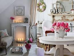 vintage deko ideen in weiß für wohnzimmer im vintage