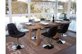6 x esszimmerstuhl braun stuhlset stühle drehbar küche