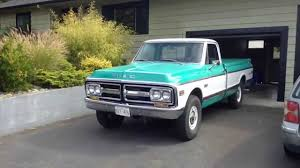 1972 GMC Sierra Grande 4x4 - YouTube