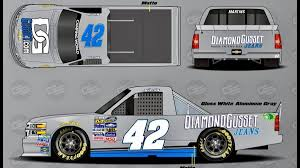 2017 NASCAR Camping World Truck Series Paint Schemes - Team #42 Nascar Camping World Truck Series Wikiwand 2018 Paint Schemes Team 3 Jayskis Silly Season Site Stewarthaas Racing On Nascar Trucks And Sprint Cup Bojangles Southern 500 September 2017 Trevor Bayne Will Start 92 Pin By Theresa Hawes Kasey Kahne 95 Pinterest Ken Bouchard 1997 Craftsman Truck Series 17 Paul Menard Hauler Menard V E Yarbrough Mike Skinner