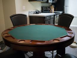 Dining Room Pool Table Combo by The Best Poker Tables For Any Budget