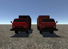 3D Model Industrial Small Truck Pack - VI   CGTrader