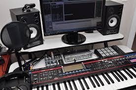 Image Of Home Recording Studio