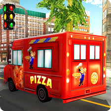 100 Food Truck Apps Pizza Delivery Van Simulator Fast Food Truck Driver Simulation Game