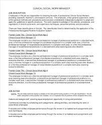 Kentucky Personnel Cabinet Position Description by Sample Social Worker Job Description 9 Examples In Pdf Word