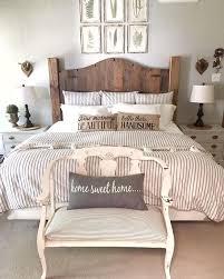 Nature Promenade Farmhouse Bedroom Decor Ideas