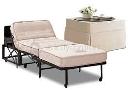 castro convertible ottoman bed with spring mattress