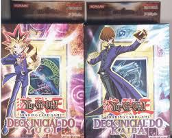 amazon com yugioh portuguese kaiba and yugi starter theme deck
