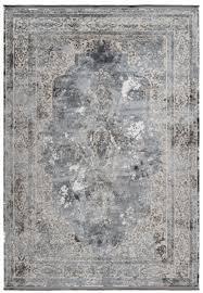 casa padrino teppich vintage silber verschiedene größen rechteckiger teppich im vintage look wohnzimmer deko accessoires