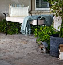 garden outdoor slate tile patio flooring options with