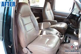 1992 1996 Ford Bronco XLT Passenger Lean Back Replacement Leather