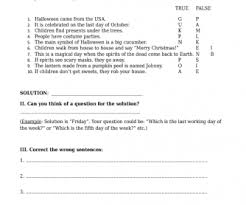 Hard Halloween Trivia Questions And Answers by 214 Free Halloween Worksheets
