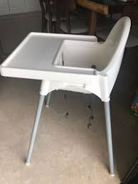 Ikea High Chair Iktilopghchairreviewweaningwithtraycushion Highchair With Tray Antilop Light Blue Silvercolour Baby Hacks Ikea Antilop High Chair 9mas Easymat On Ikea High Chair Babies Kids Nursing Feeding Carousell Cushion Cushion Only White Price In Singapore Outletsg Ikea Price Ruced Baby