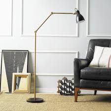 Cb2 Green Arc Lamp by Floor Lamps Add Variety And Warmth New Haven Living Hartford